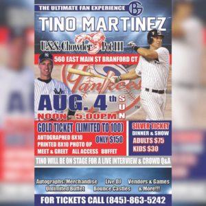 NY Yankees Tino Martinez Ultimate Fan Experience