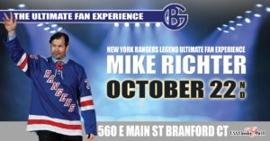 NY Rangers Mike Richter Ultimate Fan Experience