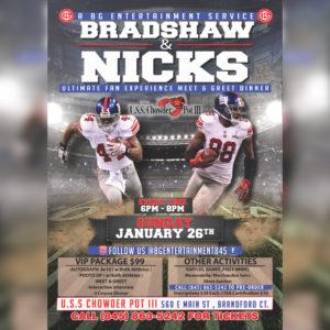 Bradshaw and Nicks Fan Experience